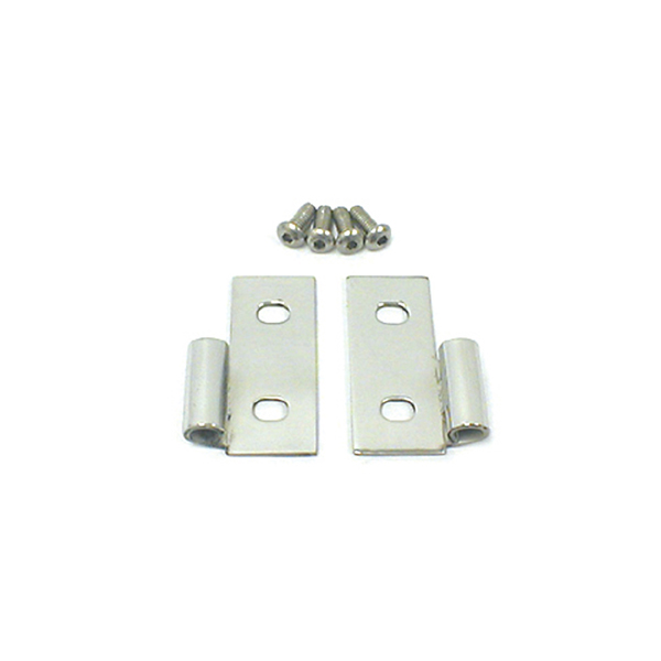 LOWER DOOR HINGES, 76-06 JEEP CJ & WRANGLER/UNLIMITED, STAINLESS