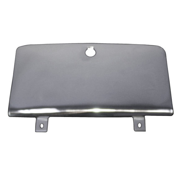 GLOVE BOX DOOR, STAINLESS, 76-86 CJ