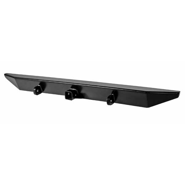 HEAVY DUTY ROCK CRAWLER BUMPER REAR WITH HITCH BOX, (97-06 JEEP WRANGLER/UNLIMITED)  BLACK