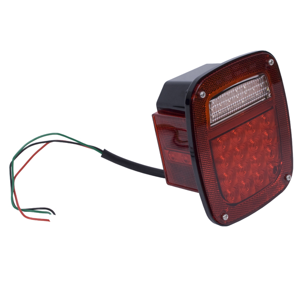 LED TAIL LIGHT ASSEMBLY LH CJ 76-86, YJ 87-95, TJ 97-06