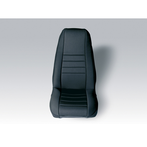 NEOPRENE SEAT COVER RUGGED RIDGE FRONTS PAIR BLACK