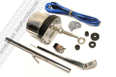 12V Stainless Steel Electric Wiper Motor Kit