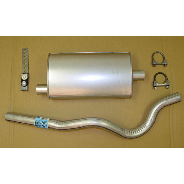CATBACK EXHAUST 6-CYLINDER
