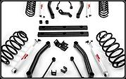 4 Jeep TJ Series II Suspension Lift Kit