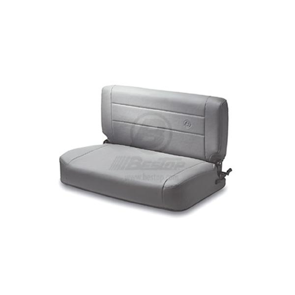 SEAT, GRAY BESTOP REAR FOLD & TUMBLE