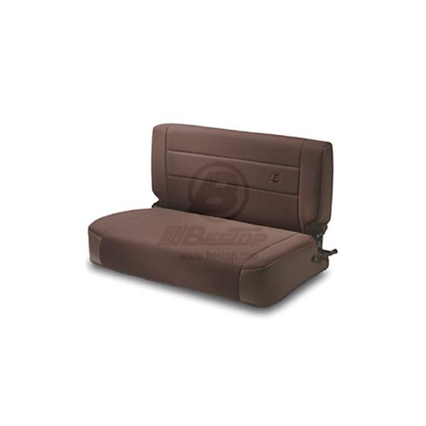REAR FABRIC SEAT, FOLD & TUMBLE SPICE