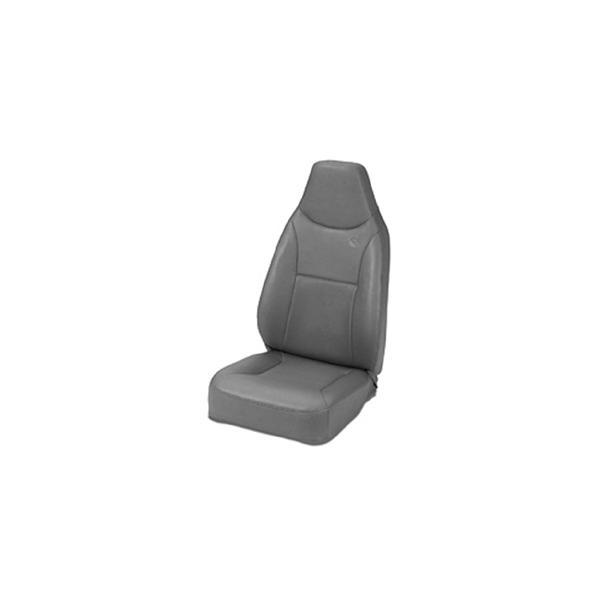 SEAT GRAY, TRAIL MAX II, BESTOP, CJ 76-86, YJ 87-95, TJ 97-06
