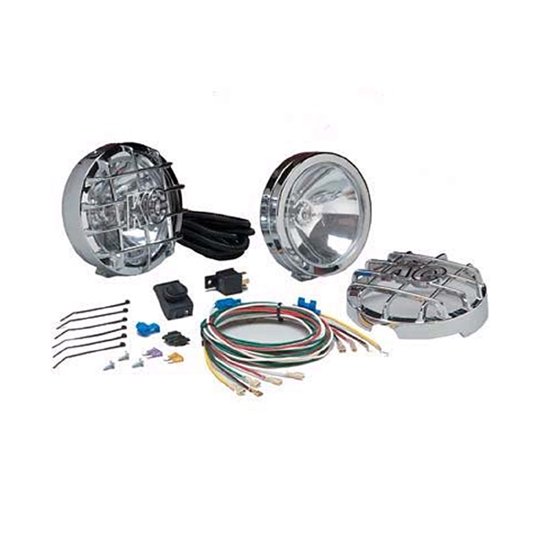 LONG RANGE LIGHT PAIR KIT 130W CHROME