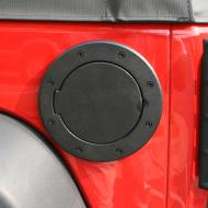 FUEL COVER BLACK ALUMINUM JK WRANGLER 07-09Create a custom look in just a few minutes. This special design fits directly over the existing gas cap opening. It attaches directly to the original equipment plastic insert using self tapping screws with no need to remove the existing plastic equipment plastic insert using self tapping screws with no need to remove the existing plastic insert. Unlike other designs on the market, installation does not require the removal of the tail light or internal gas cover components. Available with or without locking mechanism. Some drilling required.                    Replaces: 11425.05Made in TAIWANUPC: 804314162535Label: FUEL COVER BLK ALUM JK 07-09