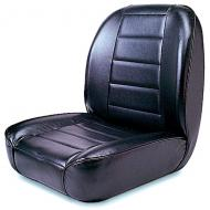 LOW BACK FRONT BUCKET SEAT, BLACK, 55-86 JEEP CJ