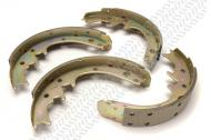 1978-86 Cj, 10� BRAKE SHOES (LININGS) REAR, BENDIX