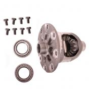 DIFFERENTIAL CASE ASSEMBLY 01 XJ, 01-02 TJ REAR DANA 35 WITH 3.072001 XJ, 2001-02 TJ Rear D35 w/ 3.07 Spicer brand stock replacement. Includes case, bearings, shims and bolts.                             Replaces: 5073110AAMade in USAUPC: 804314134501Label: 16505.11 DIFF CASE ASY R D35