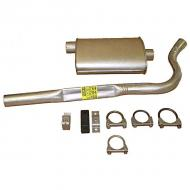CATBACK EXHAUST 83-86 6 CYLINDER CJ7Replaces: 44784KMade in USAUPC: 804314130732Label: 17606.07 CAT-BACK 83-86 6CL C7