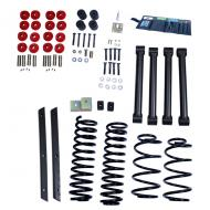 LIFT KIT WITHOUT SHOCKS, RUGGED RIDGE ORV, 2 INCH TJ 03-06