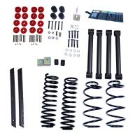 LIFT KIT WITHOUT SHOCKS, RUGGED RIDGE ORV, 2 INCH WRANGLER UNLIMITED 03-06Replaces: 18401.32Made in USAUPC: 804314165611Label: LIFT KIT ORV 2IN TJ UNL 03-06