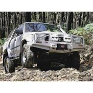 BUMPER, ARB, TOYOTA PICKUP 86-95ARB bumpers incorporate a fully engineered mounting system which completely replaces the standard bumper. ARB pioneered the five fold upswept and tapered wing design, which provides enormous strength and maintains an optimum upswept and tapered wing design, which provides enormous strength and maintains an optimum approach angle. Mounting a winch requires a properly supported structure designed to accommodate the stresses of winching. All ARB numbers are designed and tested to endure and exceed such loads.                    Replaces: ARB-3414070Made in AUSTRALIAUPC: 804314065119Label: BUMPER TOYOTA P/UP 86-95