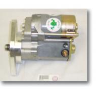 STARTER, MEAN GREENThe Mean Green Gear Reduction Starter is the answer to all of your starter problems. The Mean Green Starter provides 100% more torque than an overweight stock starter. With a 4.4 to 1 gear reduction, roller bearing support, and an overweight stock starter. With a 4.4 to 1 gear reduction, roller bearing support, and an integrated solenoid, the Mean Green Starter can crank any engine no matter how high its static compression.                      Replaces: MG3210Made in USAUPC: 804314075071Label: STARTER, MEAN GREEN SEE F9