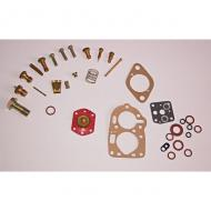 This is a carburetor repair kit for the solex design carburetors in the Hurricane F-Head engines, that are in some of the following vehicles:  1950 Willys Jeepster  1966-1971 Jeep Jeepster Commando  1953-1968 CJ-3B  1955-1971 CJ-5  1956-1971 CJ-6  1950-1961 Willys Jeep Truck  1950-1961 Willys Jeep Wagon  1953 Willys 475A Lark  1952-1971 Willys M38A1