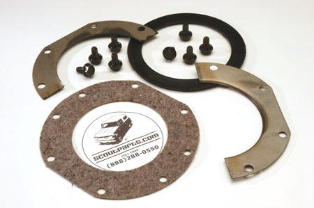 Alloy USA - Precision Gear -- Closed Knuckle Small Felt Kit