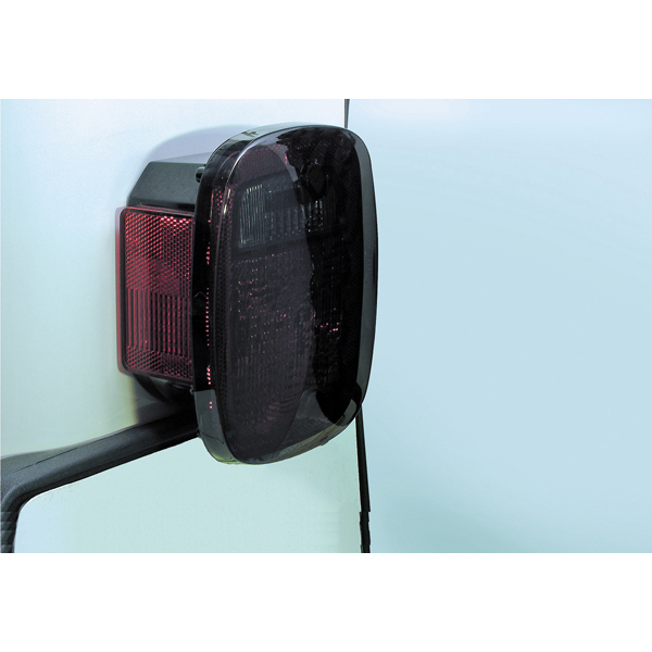 TAIL LIGHT BLACKOUTS, SMOKE, 76-06 CJ/WRANGLER