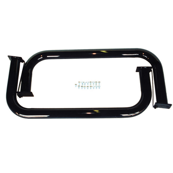 NERF BARS, BLACK POWDERCOAT, 76-83 CJ5