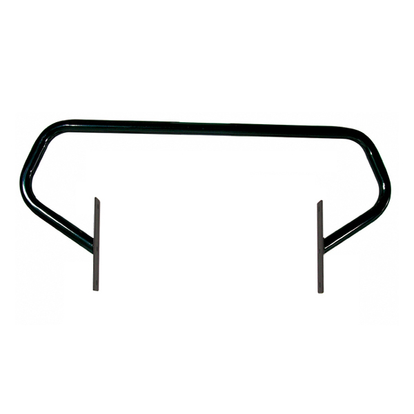 BRUSH GUARD, SHINY BLACK, 97-06 WRANGLER