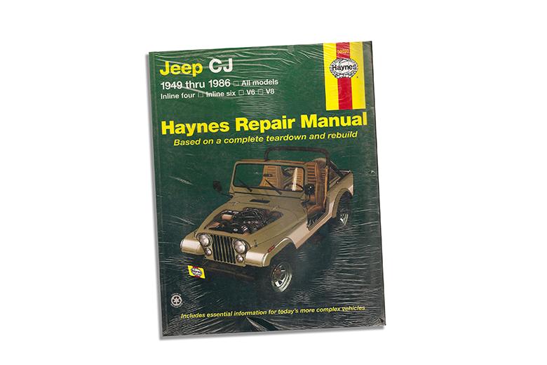 Haynes Repair Manual Jeep CJ 49-86 Automotive Shop Service