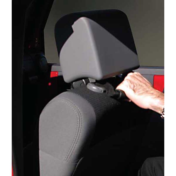 GRAB HANDLE PAIR SEAT JK BLACK 07-09