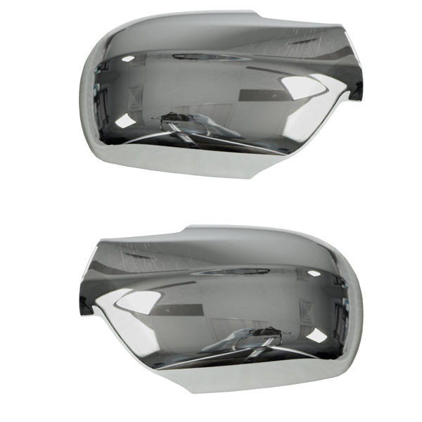MIRROR COVERS CHROME WK 05-07, PAIR