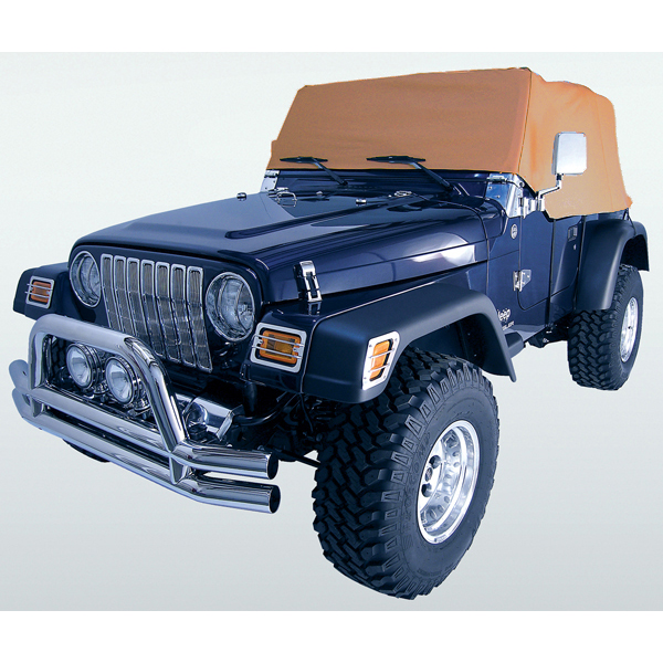 WATER RESISTANT VINYL CAB COVER, 92-06 JEEP WRANGLER, SPICE