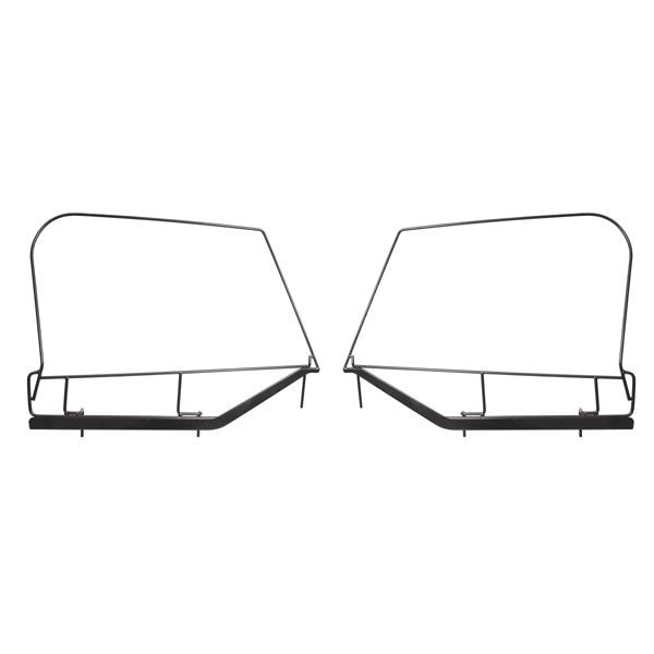 SOFT TOP UPPER DOOR SKIN FRAMES TJ 97-06 PAIR