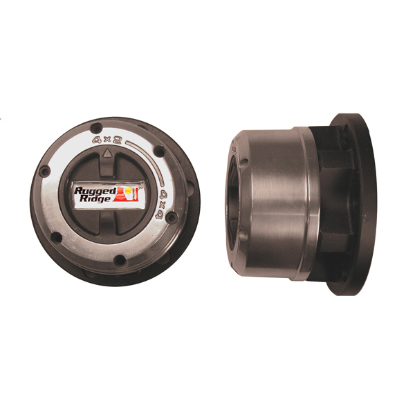LOCKING HUB, RUGGED RIDGE, 82-92 MONTERO, HYUNDAI, D-50 4X4 DODGE RAIDER