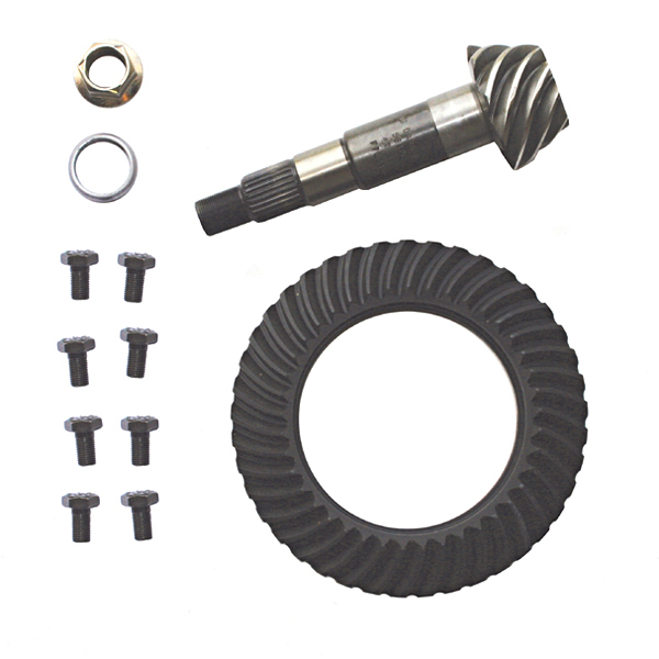 RING & PINION 3.73:1 01 XJ DIESEL, 01-02 TJ REAR DANA 35