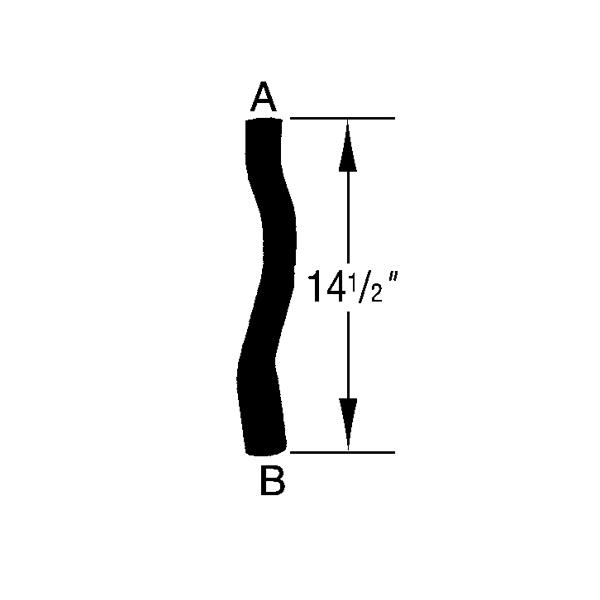 inlet hose chrysler ns 3 3l  u0026 3 8l 96