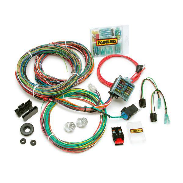 painless waterproof wiring harness cj2 cj5 45 74 jeep. Black Bedroom Furniture Sets. Home Design Ideas