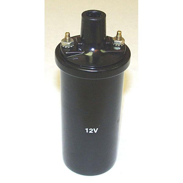 COIL IGNITION 4 CYLINDER 12V WITH INTERNAL RESISTOR