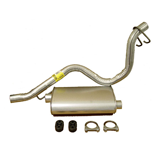 CATBACK EXHAUST 93-95 4/6 CYLINDER YJ