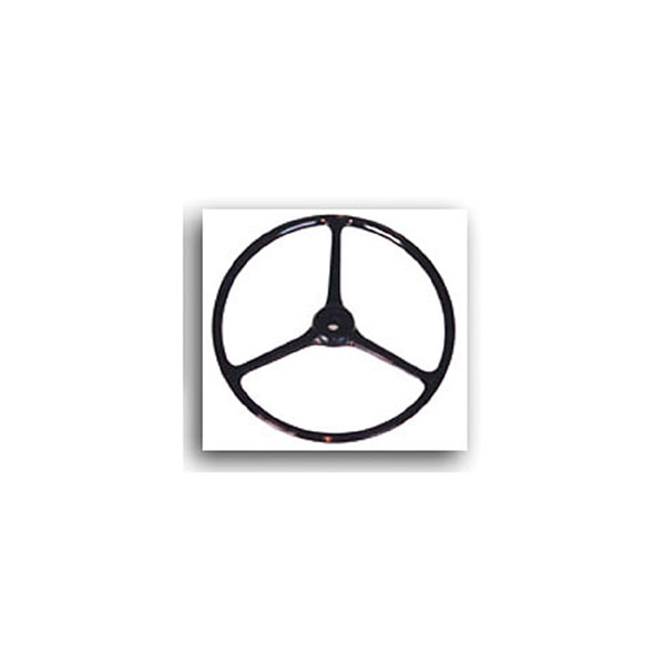 WHEEL, STEERING BLACK 64-75