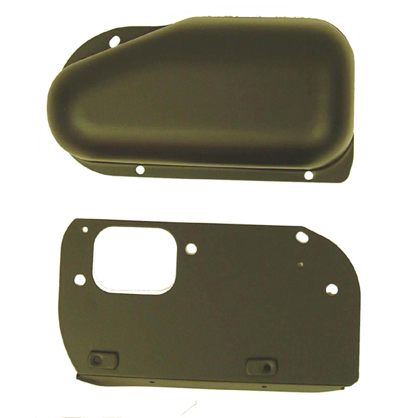 WIPER COVER, BLACK, 76-86 CJ