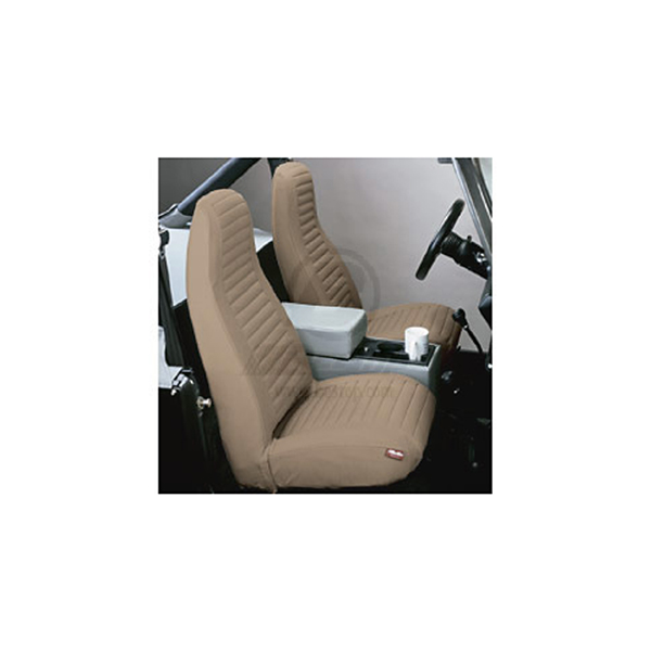 SEAT COVER, FRONT PAIR TAN