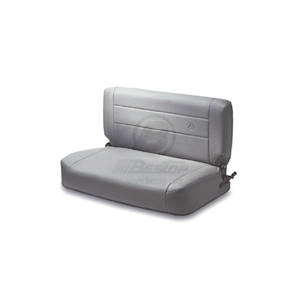 SEAT, GRAY BESTOP REAR FOLD & TUMBLE