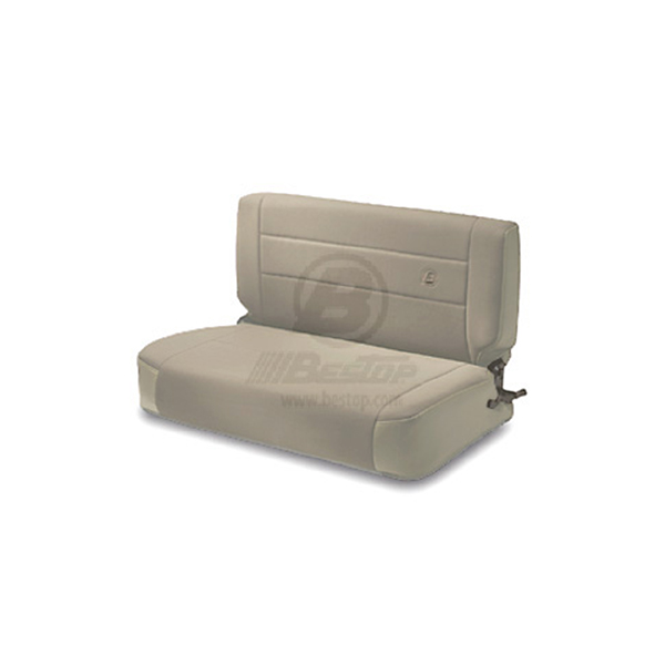 REAR FABRIC SEAT, FOLD & TUMBLE TAN