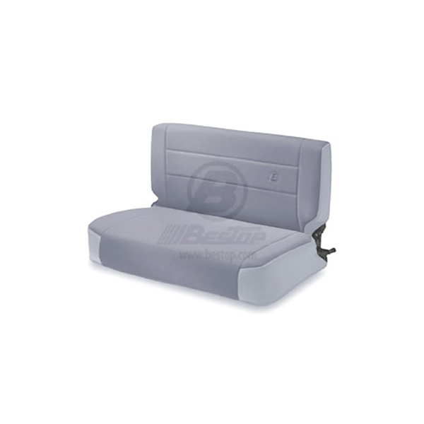 REAR FABRIC SEAT, FOLD & TUMBLE GRAY