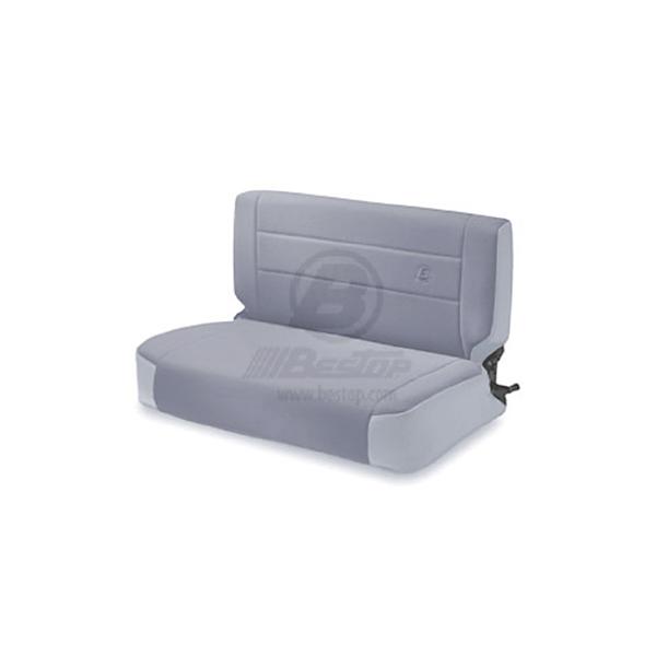 REAR FABRIC SEAT, FOLD & TUMBLE GRAY