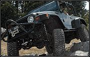 4 Jeep TJ X-series Suspension Lift Kit