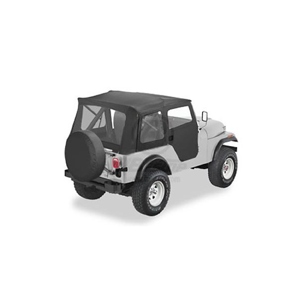 SUPERTOP 76-83 CJ5 BLACK