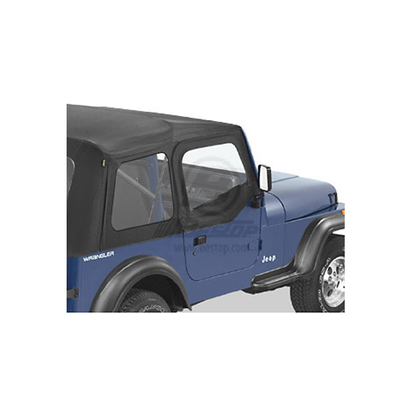 SOFT UPPER DOORS 88-95 SOFT TOP HALF DOORS BLACK DENIM