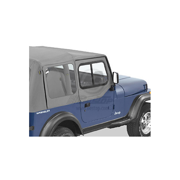 Door Slider 88 95 Gray Jeep Parts Guy All The Jeep