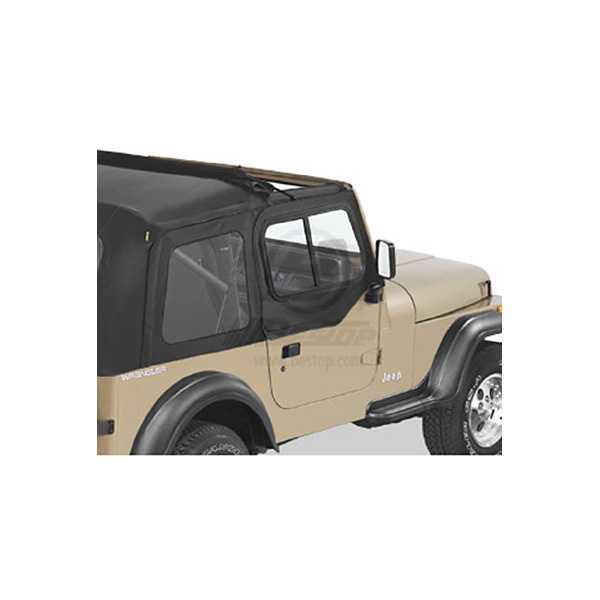 DOOR SLIDER YJ BLACK DENIM