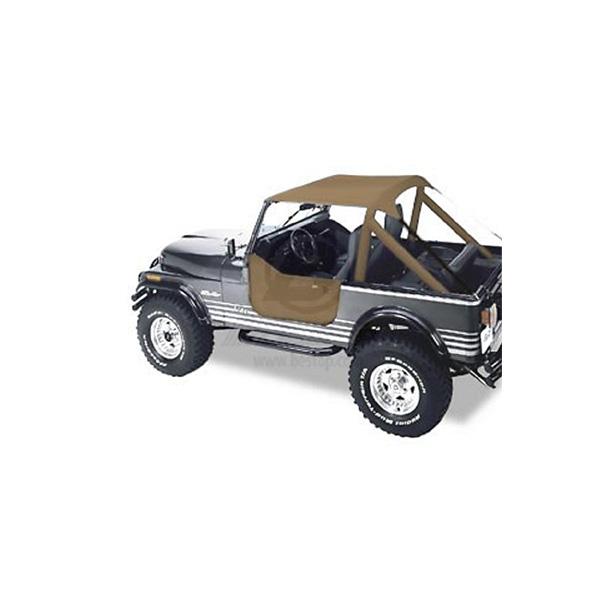 Soft Top Beach Top Bikini Top Safari Roof In Black Jeep Wrangler Jk For Sale Online